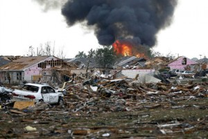 This picture can hardly describe the aftermath of this F-4 tornado.