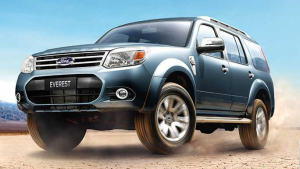 Ford Everest debuts at the 35th Bangkok Motorshow
